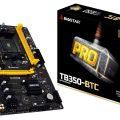 Biostar TB350-BTC GPUを6枚搭載できるマザーボード